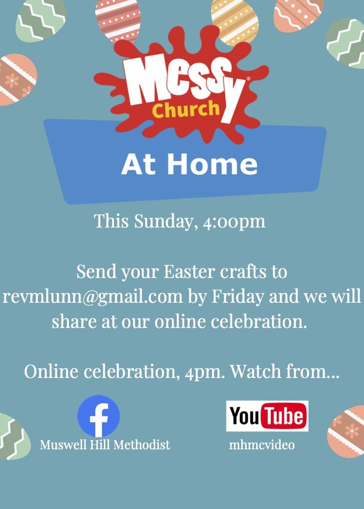 Messy Church online